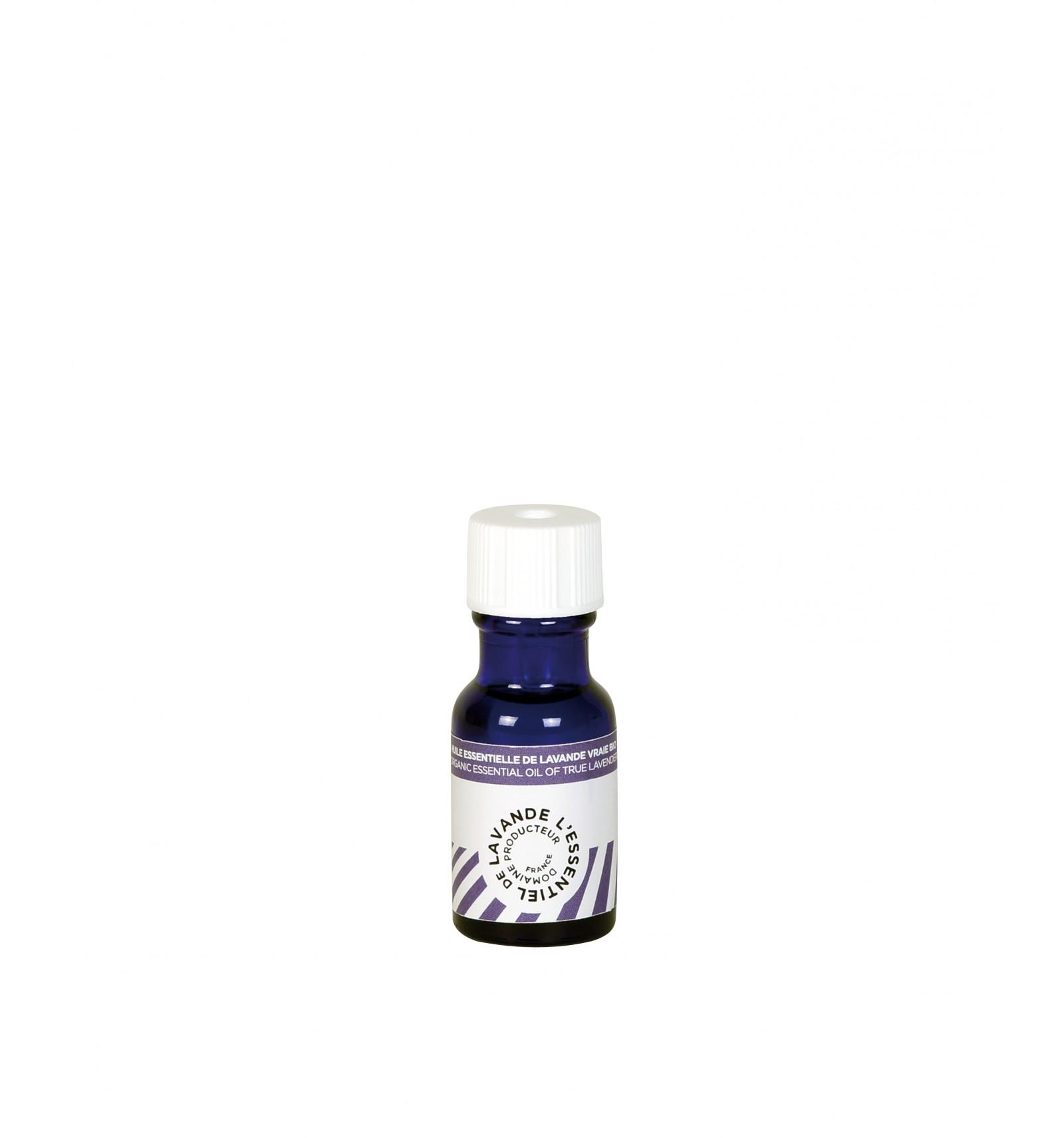 Vertu De La Lavande pure huile essentielle de lavande vraie bio